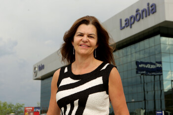 Mônica Beckert, diretora executiva do Grupo Lapônia